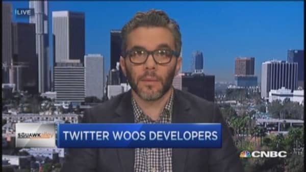 Twitter woos developers