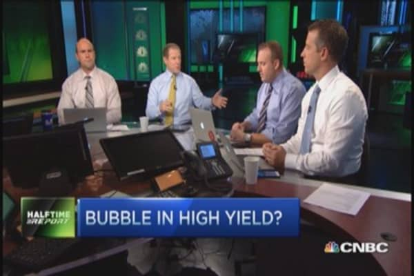 High yield bubble? Traders' view