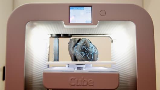 A 3D Systems Cube printer