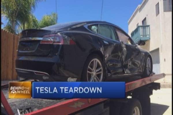Inside the Tesla Model S