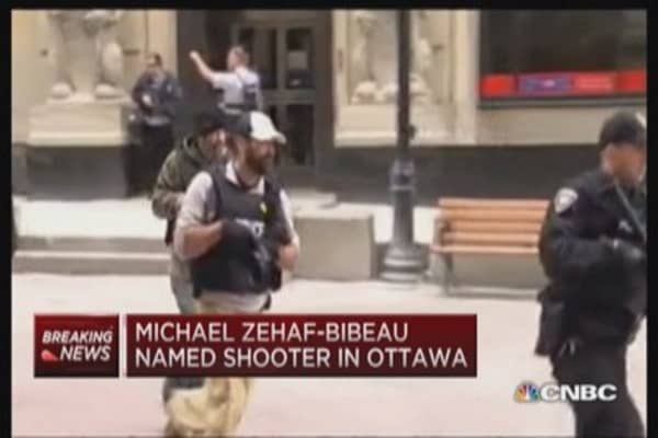 Michael Zehaf-Bibeau identified as Ottawa shooter