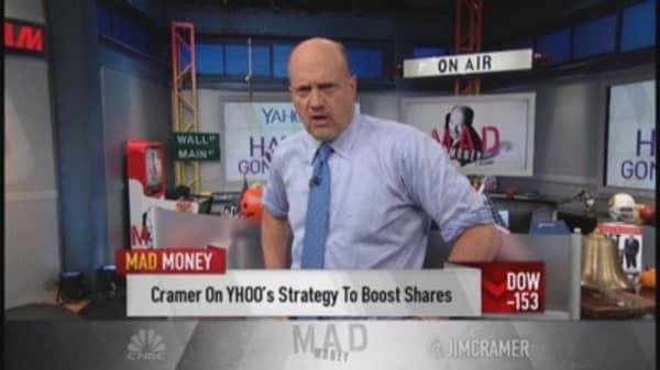 Cramer's CEO test: KO vs. YHOO