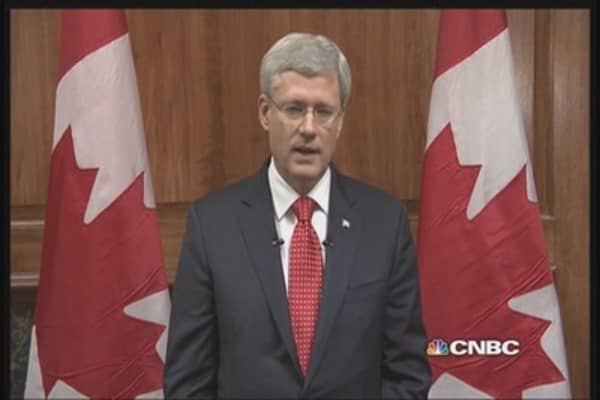 Canadian PM: 'We will never be intimidated by attacks'