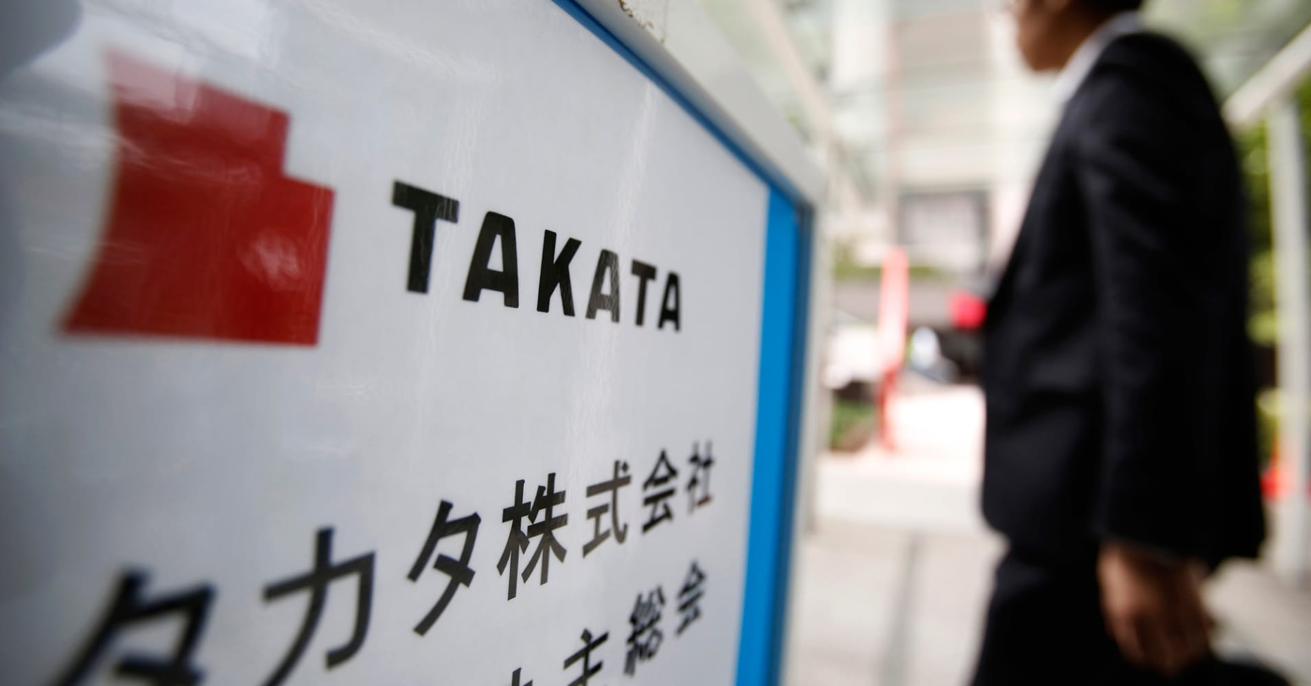 Takata's bankruptcy filing will leave others picking up the bill, analysts say