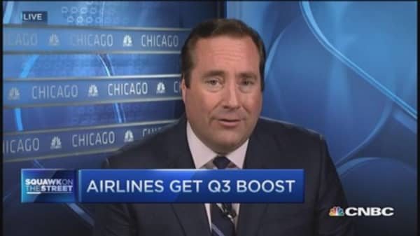 Airlines get Q3 boost