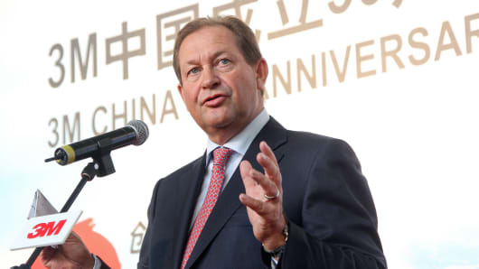 Inge G. Thulin, President and CEO of 3M Company.