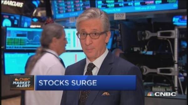 Pisani: Earnings behind market move