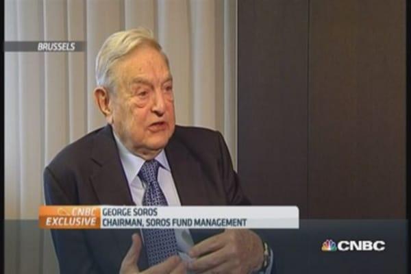 Europe needs more stimulus: Soros