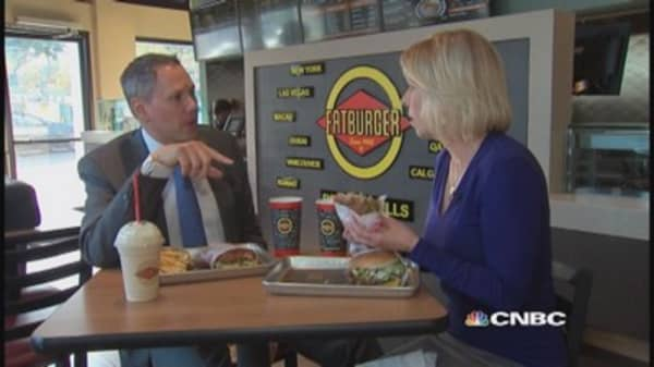 Taste test Fatburger's 'Skinny Burger'