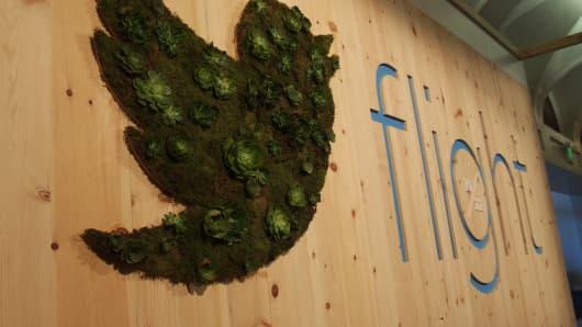 Twitter Flight signage