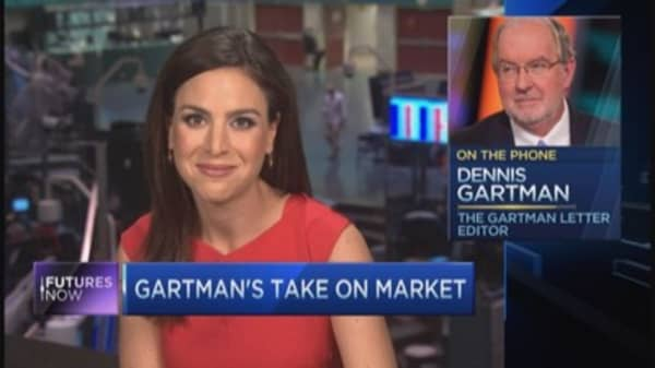 Gartman explains his 'bear market' call