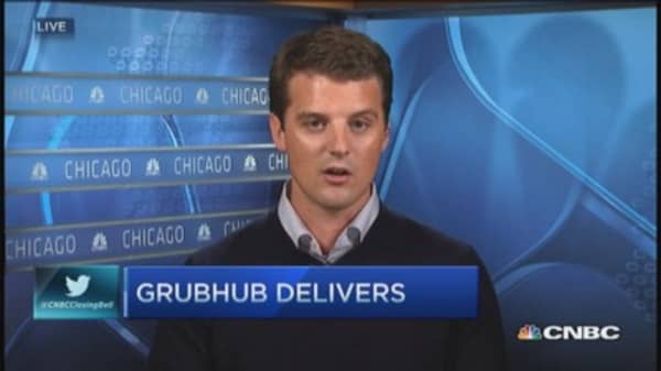 GrubHub CEO: Investing in product