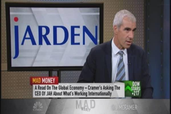 Jarden's Franklin: Strength of consumer