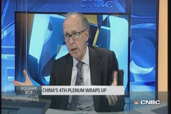 Roach: Don't write off China's 4th Plenum just yet