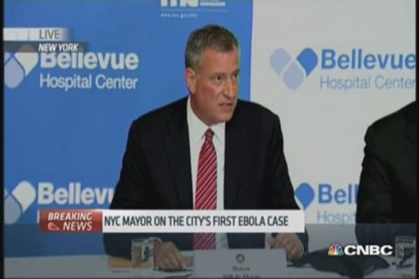 American doctor is NYC's first Ebola case