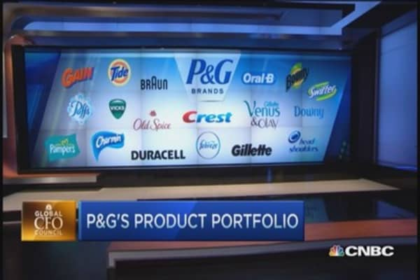 P&G reports Q3 results