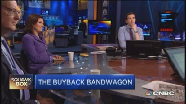 Buyback blues hit the Street