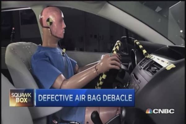 Takata airbag recall could be largest in history