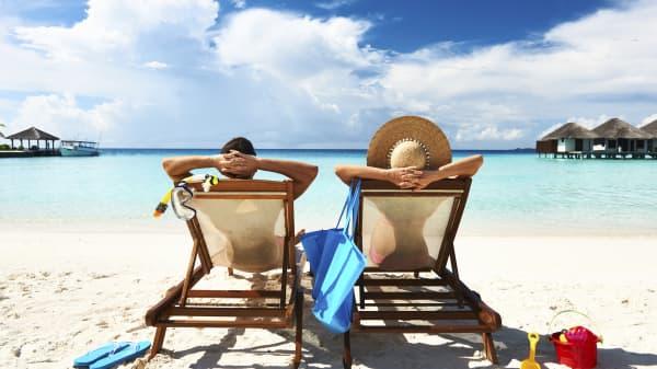Vacation beach holiday vacation days
