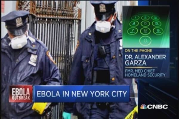 Growing health threat: Ebola in NYC