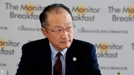 Dr. Jim Kim, president of the World Bank.