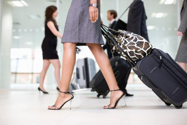luggage, airport with luggage, luxury travel, business travel, travel