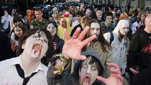International Zombie Day partcipants