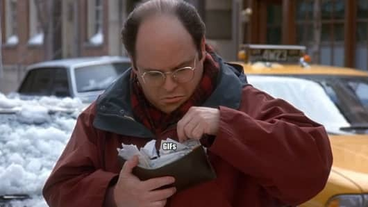 Apple Pay could help George Constanza.