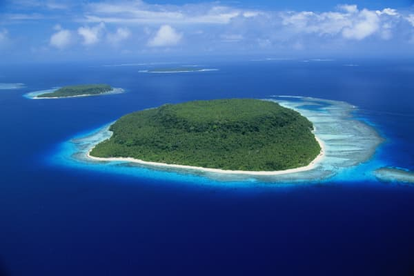 South Pacific islands, Vava'u, Tonga.