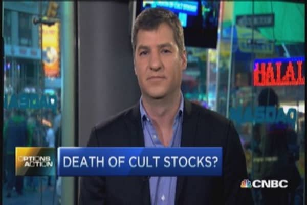 Did we witness the death of cult stocks?