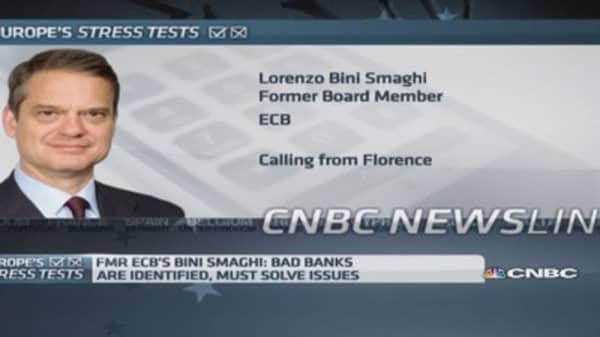 Not in ECB's interest to be soft on banks: ex-ECB member