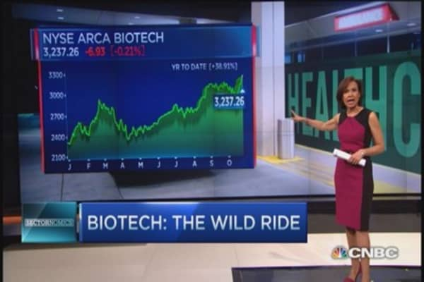 Biotech's wild ride
