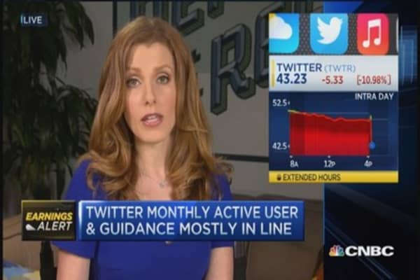Twitter meets earnings expectations