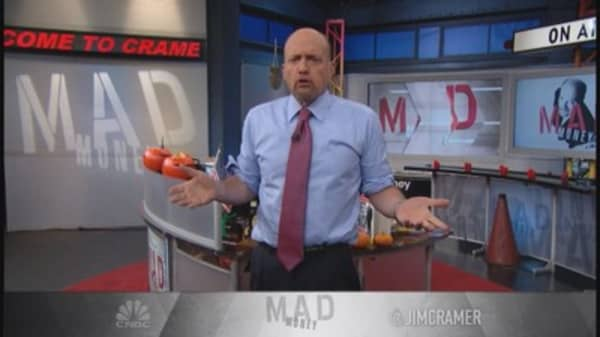 Cramer: Dazed and confused market