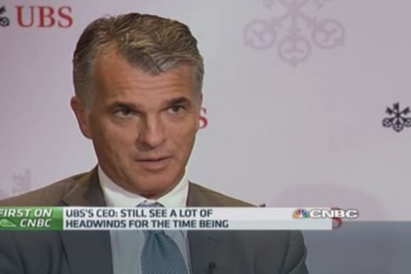 Stress tests 'credible and tough': UBS CEO