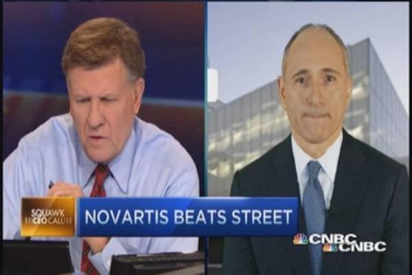 Novartis CEO on big pharma pipeline
