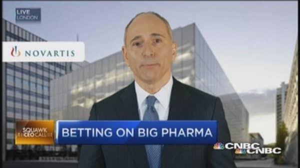 Novartis' precision M&A' plan: CEO