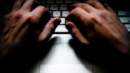 keyboard, typing, hacker, cybercrime, cybersecurity, hacking, data breach
