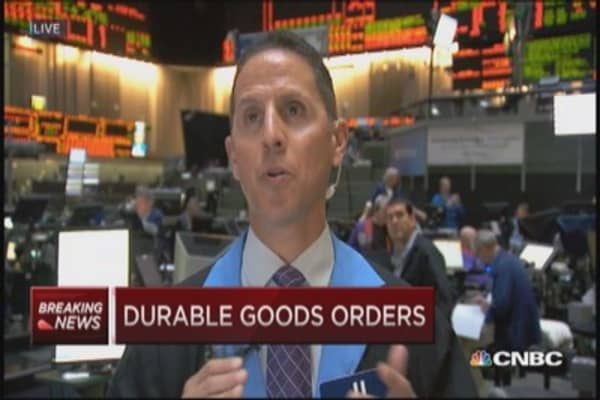 September durables down 1.3%