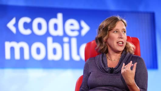 Susan Wojicki at CodeMobile recode conference