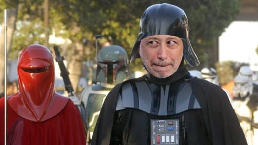 Darth Vader Lloyd Blankfein mashup