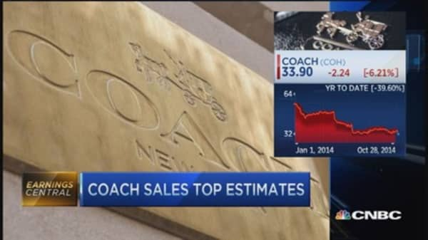 Some worry in Coach's stock: Pro