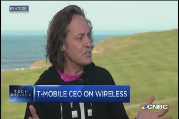 T-Mobile CEO: Record quarter