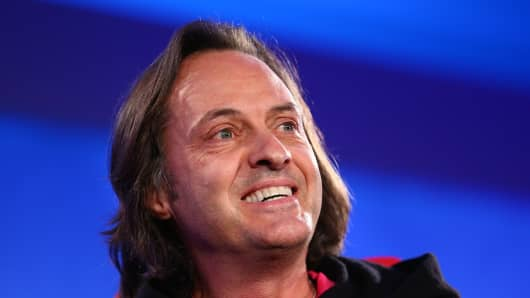 John Legere, CEO of T-Mobile at Code Mobile