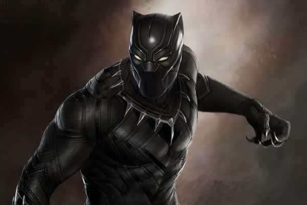 Image from Black Panther movie poster