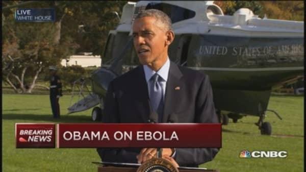 Pres. Obama: Ebola progress in Liberia
