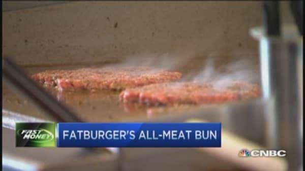 Fatburger's all-meat bun