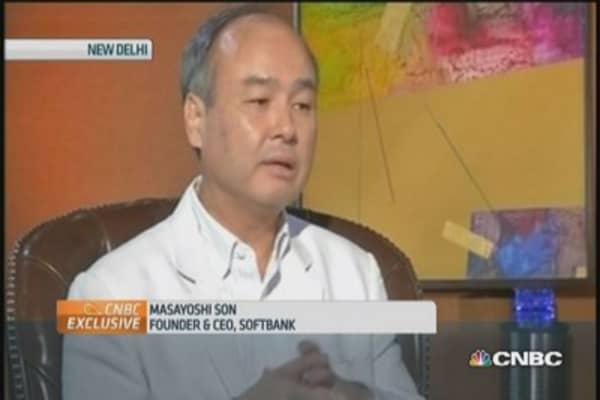 Masayoshi Son on Softbank's investment gameplan