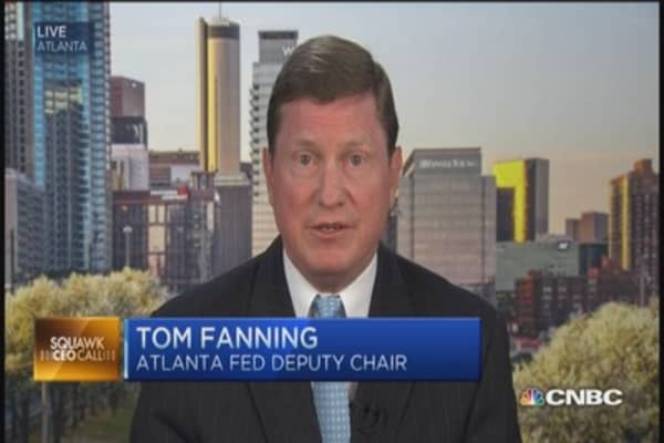 Need to get economy moving: Fed official