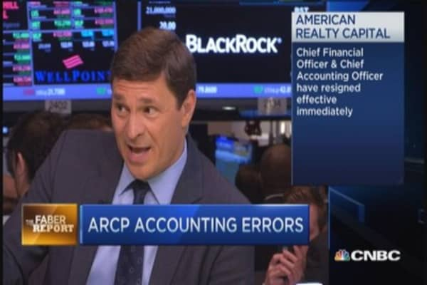 Faber Report: ARCP accounting errors